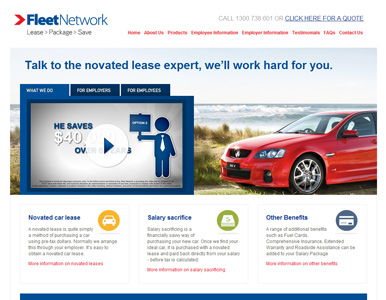 Fleet Network website